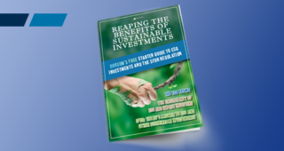 STARTER GUIDE TO ESG INVESTMENTS AND SFDR