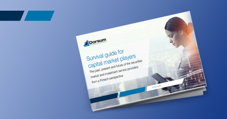 Survival guide for capital market playerswhite paper