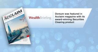 DORSUM WAS FEATURED IN ACCLAIM MAGAZINE