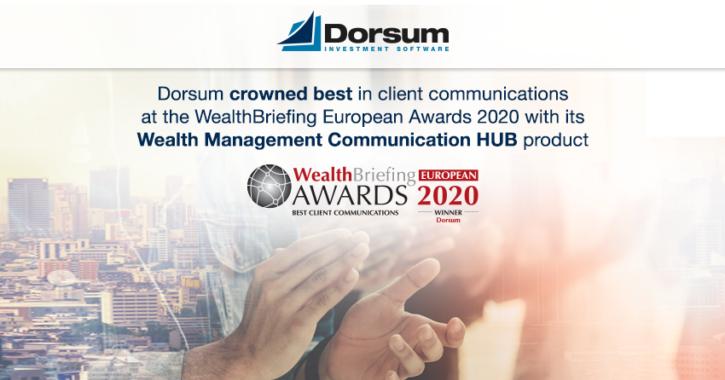 Dorsum WealthBriefing awards