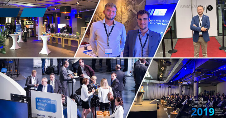 avaloq community conference with dosum